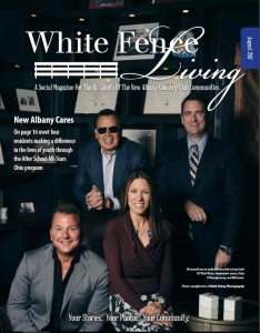 White Fence Living Aug 2017 Cover